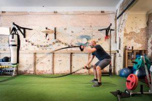 tug rope exercise