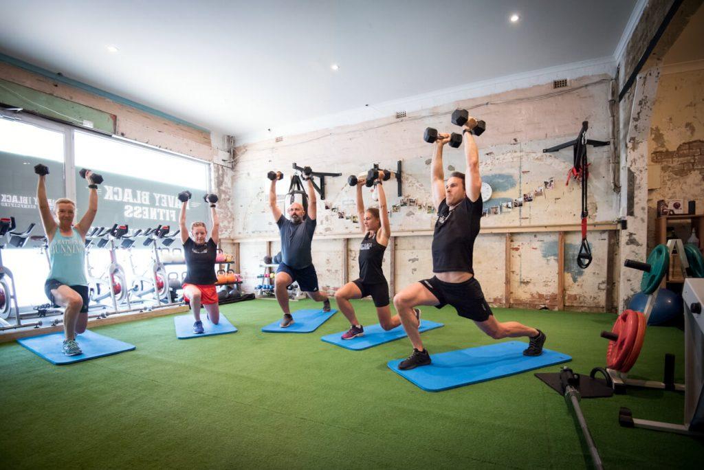 Athletes Fitness Training